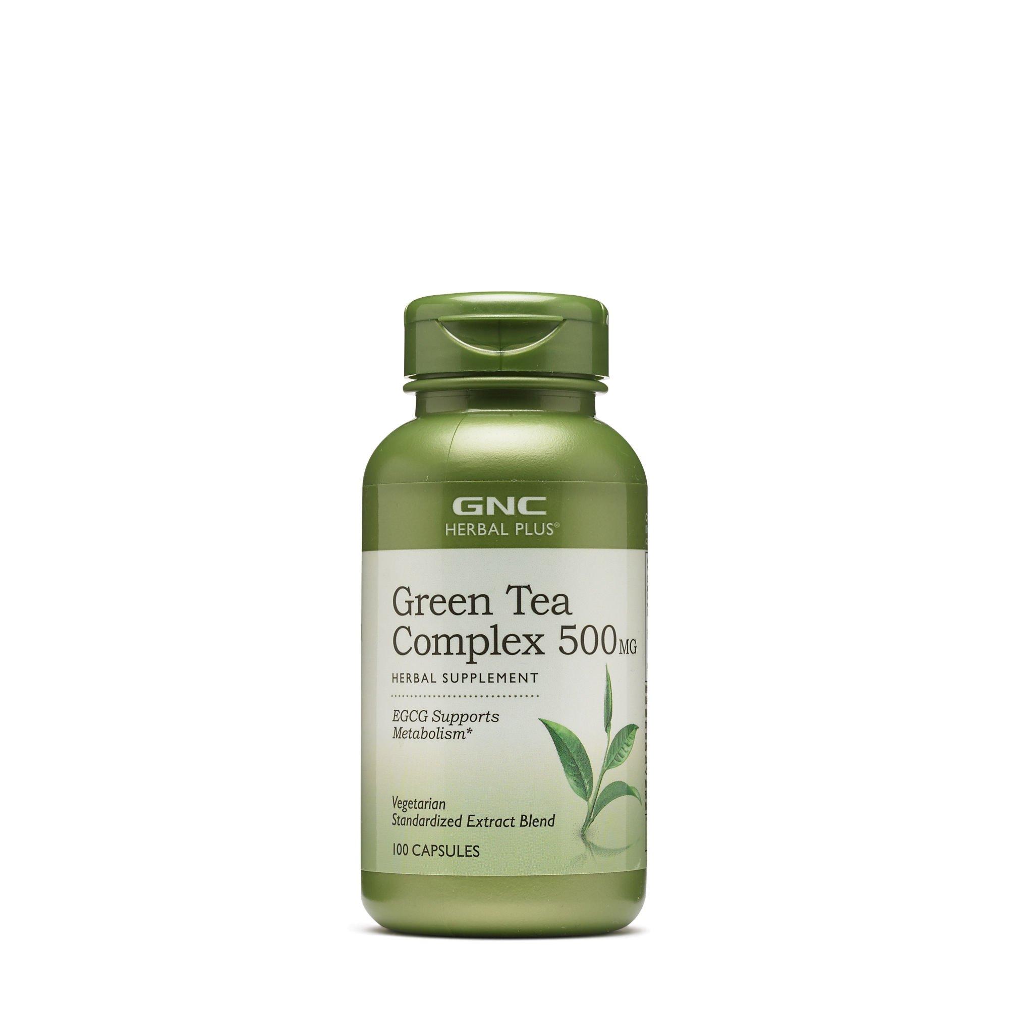 GNC Herbal Plus Green Tea Complex 500 mg 100 caps