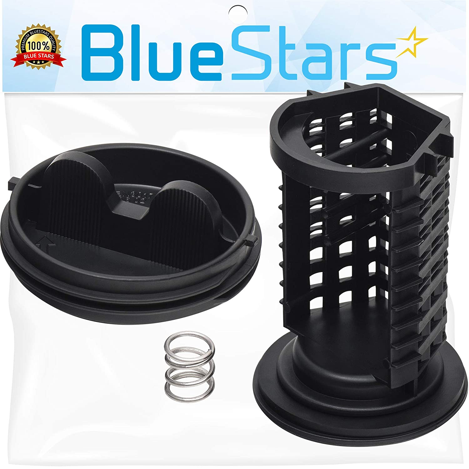Ultra Durable 383EER2001A Washer Drain Pump Filter/Trap Replacement Part by Blue Stars - Exact Fit for LG Washers - Replaces PS3522306 AP4440367 383EER2001F