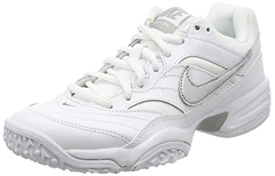 Nike WMNS Court lite Omni - Tennis Trainers, Girl, Color White (White/