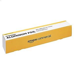 AmazonCommercial Standard Aluminum Foil, 18