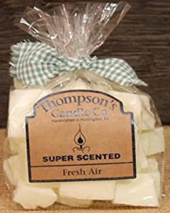 Thompson's Candle facr Super Scented Fresh Air Crumbles-Bag of Crumbles, 6 Ounce