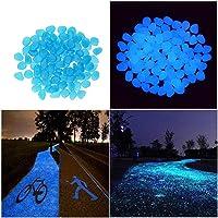 Piedras decorativas Candora®, artificiales, luminosas que brillan en