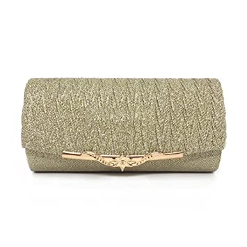 d0a5d0ffe Bolso de mano bolso bolso Clutch Mujer Bag bolso pequeño bolso de hombro  bolsillos para mujer fiesta boda Día La Compra, Dorado: Amazon.es:  Bricolaje y ...