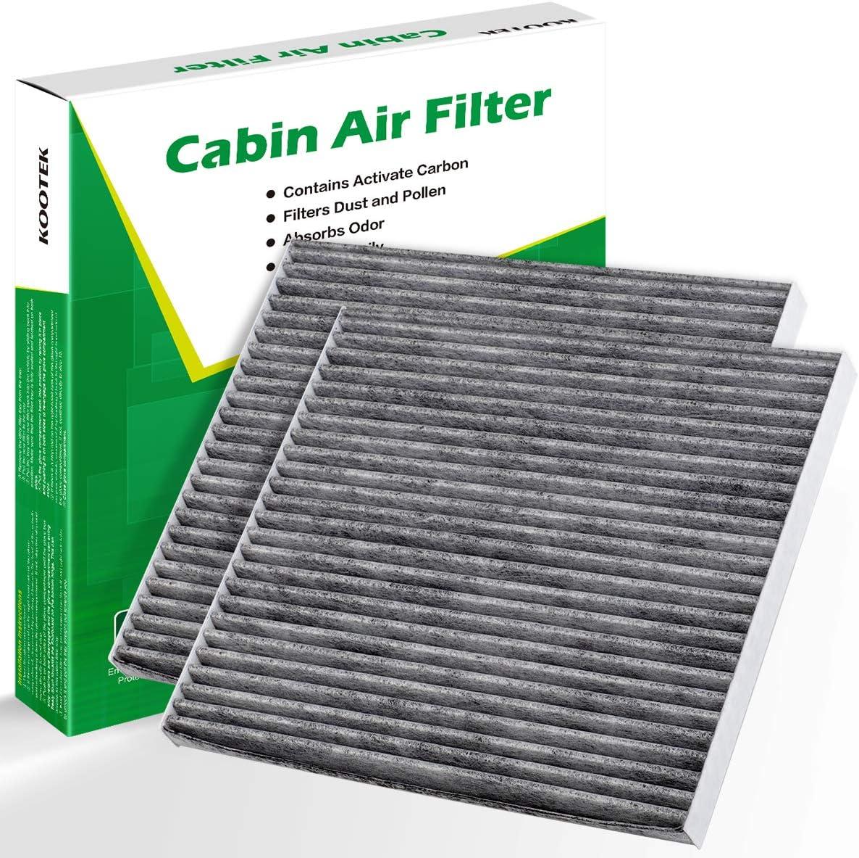 2010-2017 Optima Sonata Cadenza Azera SantaFe charcoal cabin air filter New!