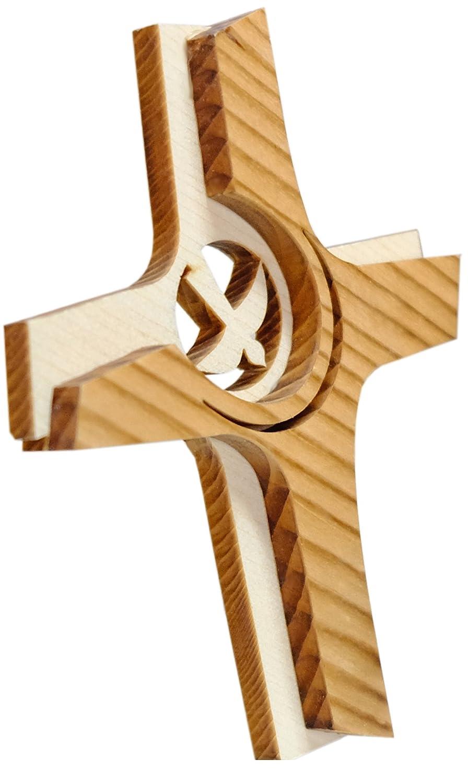 Kaltner Präsente Crucifix mural en bois style moderne (Taille 16cm)