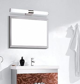 Bathroom vanity lighting lisafeng waterproof bathroom led acrylic mirror front light 40cm white light