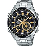 Casio Edifice Analog-Digital Black Dial Men's Watch - ERA-600D-1A9VUDF (EX353)
