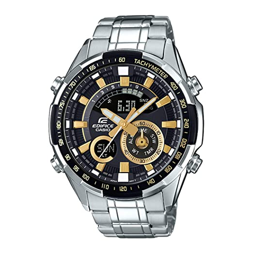 0b74f88a4b6 Buy Casio Edifice Analog-Digital Black Dial Men s Watch - ERA-600D-1A9VUDF  (EX353) Online at Low Prices in India - Amazon.in