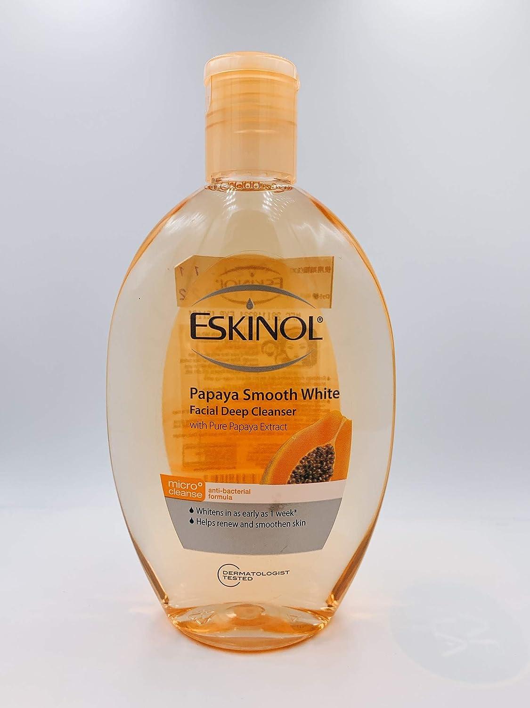 Eskinol Naturals Papaya Facial Cleanser 7.6 Oz - 225 ml Bottle
