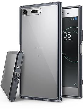 Ringke Funda Sony Xperia XZ Premium, [Fusion] Transparente al Dorso del PC y Frente al TPU [Tecnologia para Proteccion a la Caida] Carcasa Protectiva ...