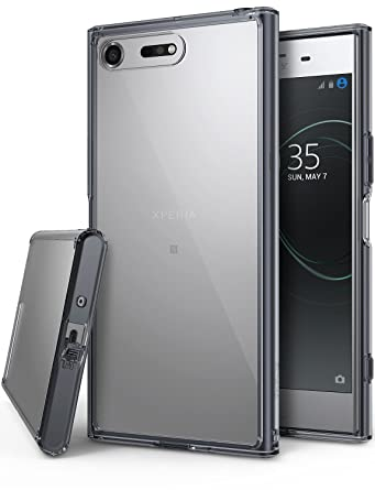 competitive price f8b51 9672c Ringke Fusion Designed for Xperia XZ Premium Case, Clear Transparent PC  Back Cover Flexible TPU Bumper [Drop Defense] Raised Bezels Scratch  Protection ...
