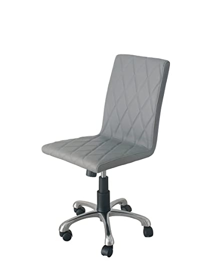 Amazoncom Whiteline Modern Living Oc 1465p Gry Julian Office Chair