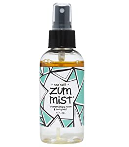 Indigo Wild Zum Mist Aromatherapy Spray, Sea Salt, 4 Fluid Ounce