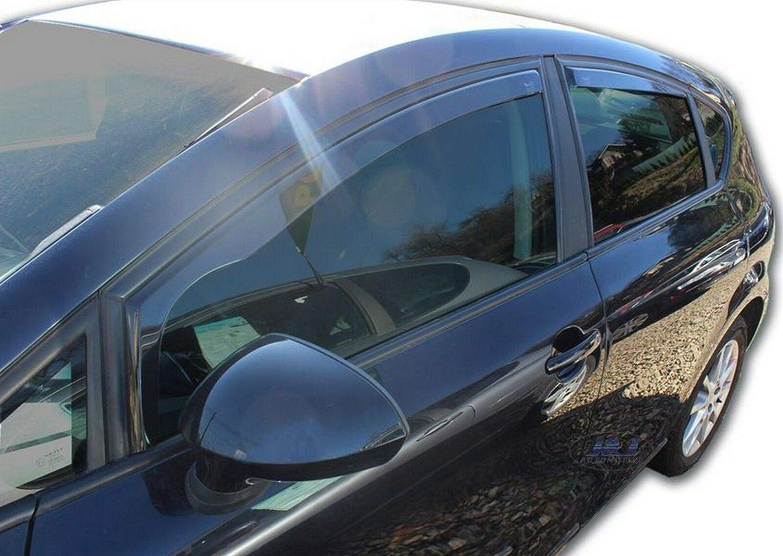 J/&J AUTOMOTIVE DEFLETTORI ARIA ANTITURBO Seat Leon 2 5 porte 2006-2012 4pezzi