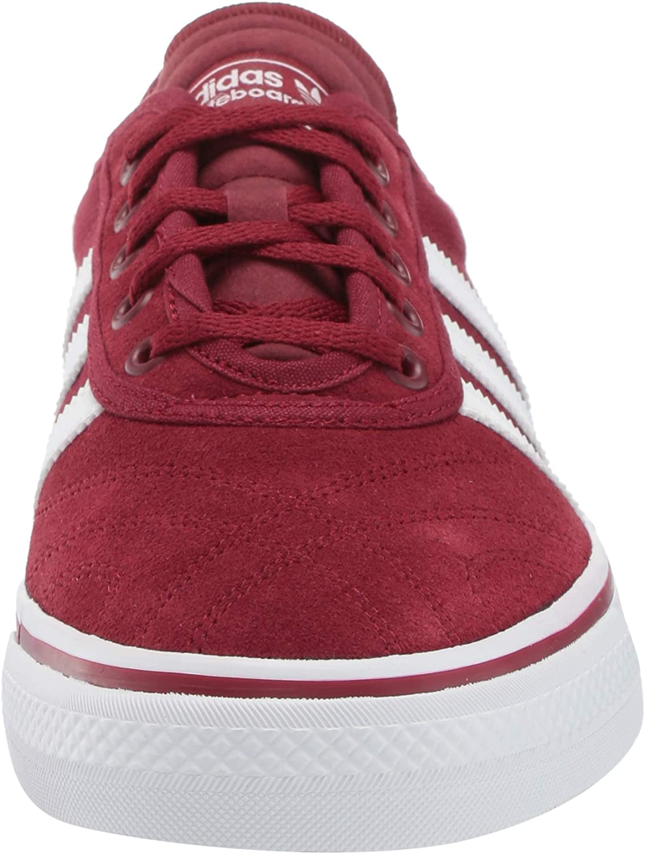 adidas Originals Adi-Ease, Chaussure de Skate Homme Collegiate Burgundy en Caoutchouc Blanc