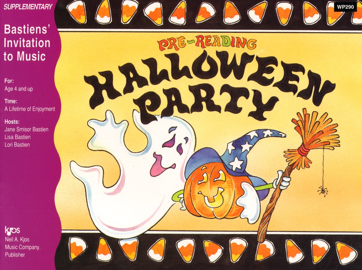 Download WP290 - Invitation to Music - Pre - Reading Halloween Party pdf epub