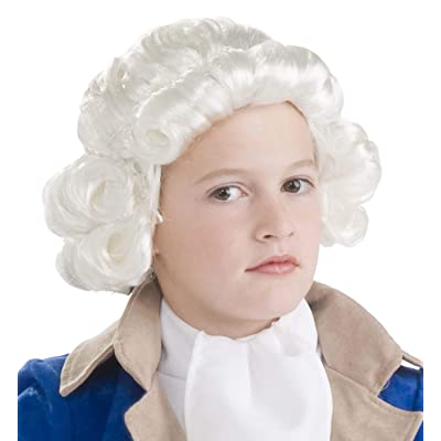 Forum Novelties Colonial Boy Child Wig, White: Toys & Games