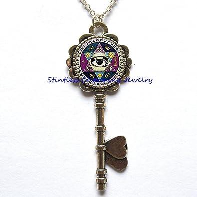 stintless charming Jewelry Ouija - Collar con Llavero ...