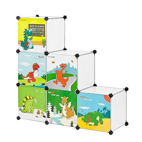 Steckregalsystem kleiderschrank  SoBuy® DIY Regal,Kinderregal, Kinderschrank, Kleiderschrank ...
