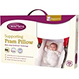 Clevamama Foam Pram Pillow with Cotton (Case included)