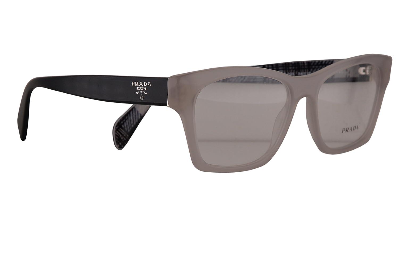 Prada PR22SV Eyeglasses 5416140 Opal Beige w Demo Clear Lens UFH1O1 VPR22S PR 22SV VPR 22S