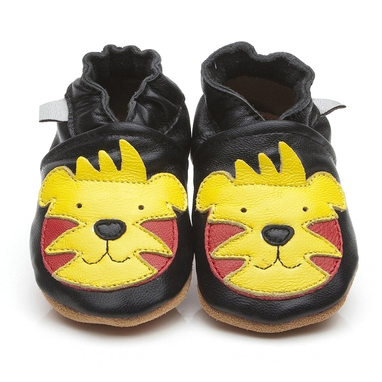 Weiche Leder Baby Schuhe Tiger  Large