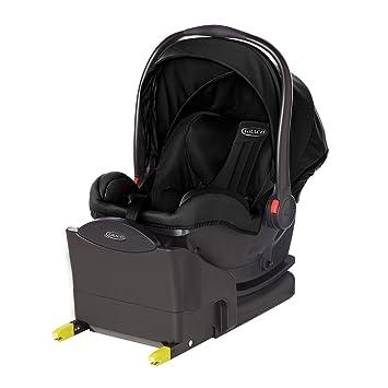 Graco SnugRide i-size bebé asiento de coche grupo 0 + - Midnight negro: Amazon.es: Bebé