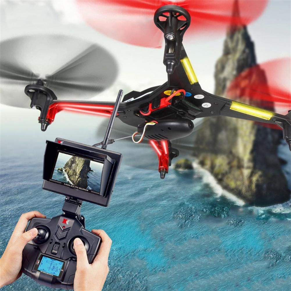 OOFAY Drohne mit Kamera X250 Fernbedienung Quadcopter Vier-Wege-Sechs-Achsen-Gyroskop Flugzeug Bildübertragung