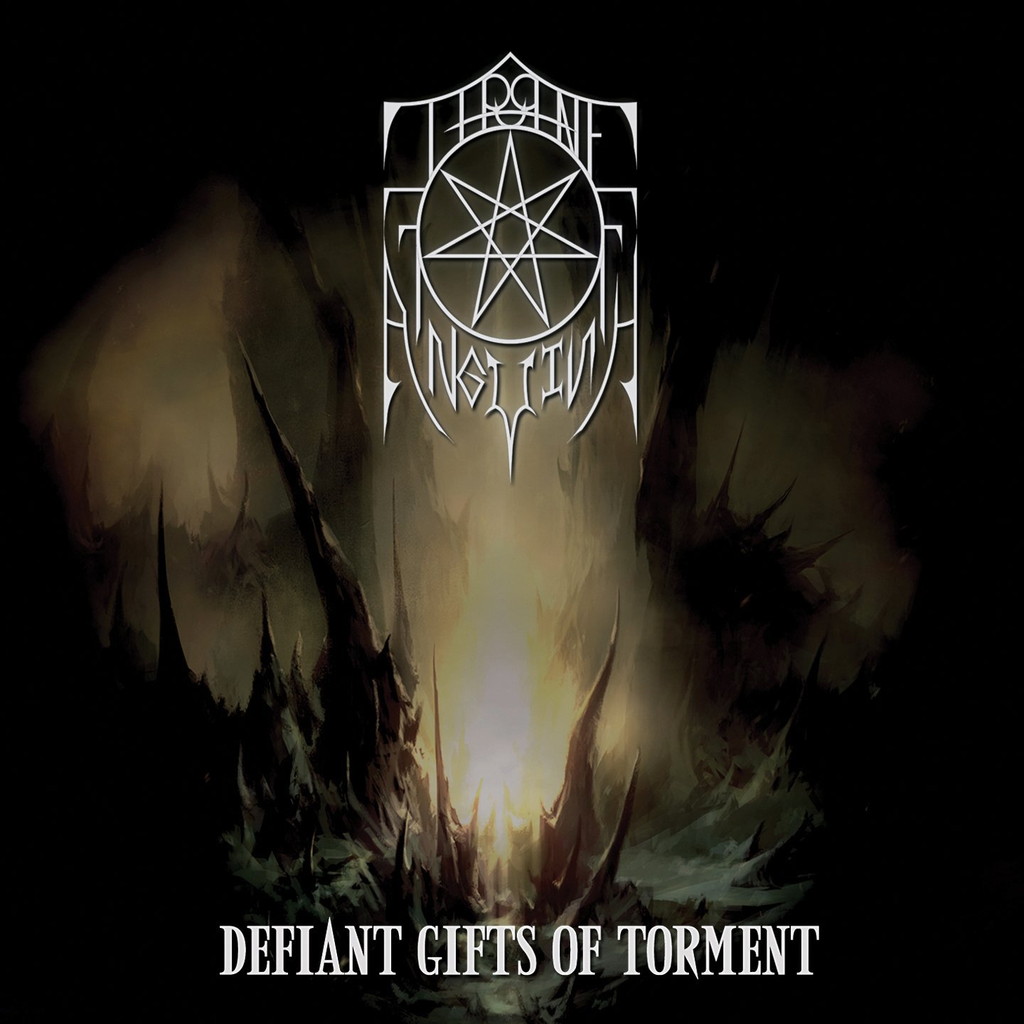 CD : Throne of Anguish - Defiant Gifts Of Torment (CD)