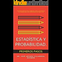 Estadística y probabilidad, primeros pasos.