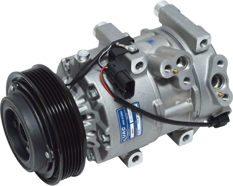 AC Compressor /& A//C Clutch For Hyundai Tucson /& Kia Sportage V6 Replaces Doowon 10P Denso 10PA17C 6-Groove BuyAutoParts 60-02135NA New