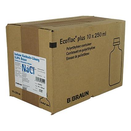 Kochsalzlösung 0,9% Ecoflac Plus 10X250 ml