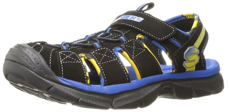 Amazon.com | Skechers Kids Relix 92187L Lightweight Sandal (Little Kid/Big  Kid) | Sport Sandals