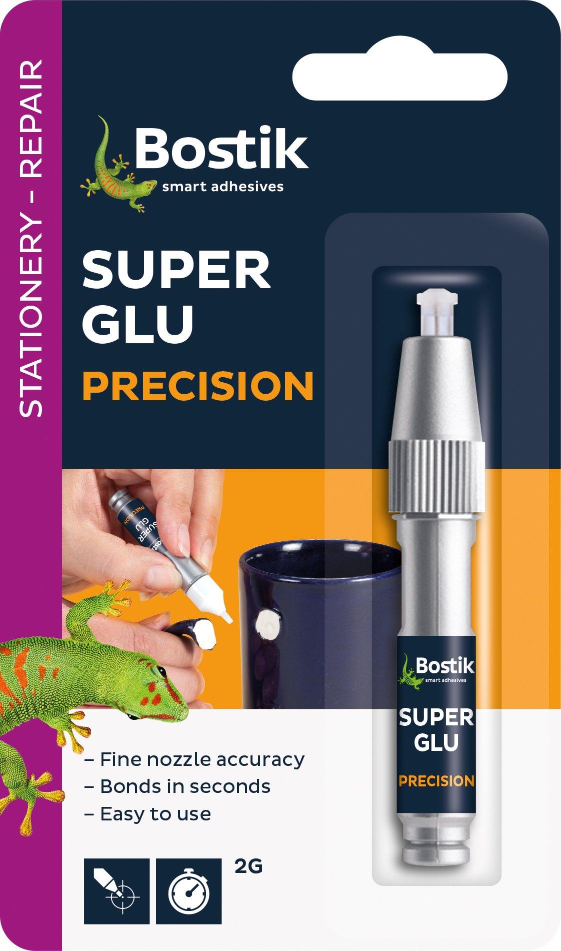 24 x Pack of Bostik Super Glue Adhesive Precision Ultra Pen 2g 80611