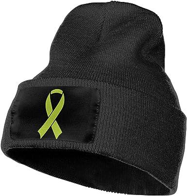 COLLJL-8 Men /& Women Hope Fight Believe Cancer Outdoor Stretch Knit Beanies Hat Soft Winter Skull Caps