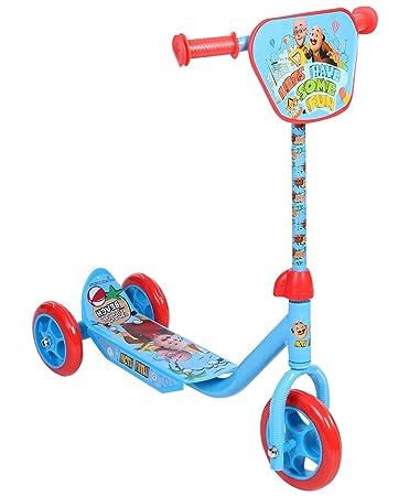 Motu Patlu 3 Wheel Scooter Blue Amazon In Toys Games