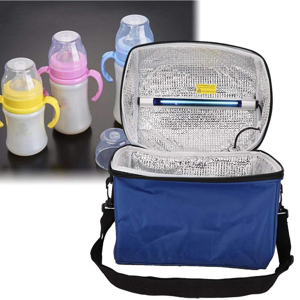 ミイラバッグ、ポータブルクリーンバッグ生活用品収納バッグ付きUVライト、USB入力大容量トートバッグ B07S9YDTMQ