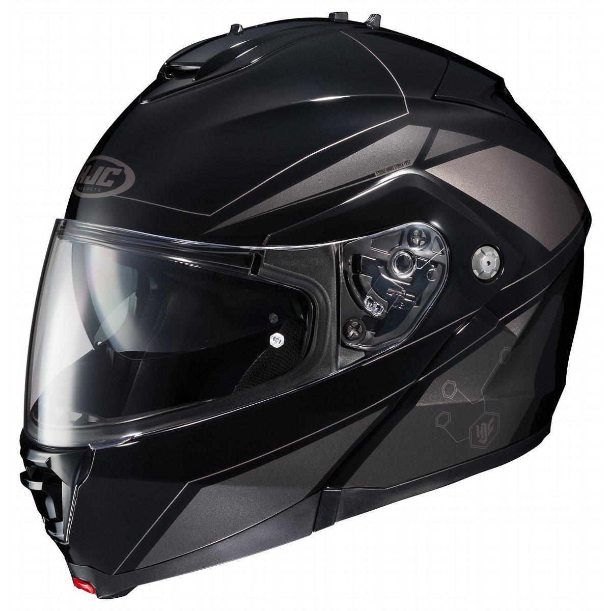 HJC IS-MAX2SN Elemental Modular Snow Helmet Frameless Dual Lens Shield (MC-5 Silver, Small)