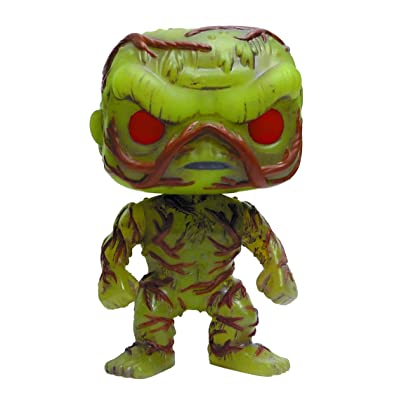 Funko Pop! DC Heroes: Swamp Thing Vinyl Figure (Glow in The Dark Version): Toys & Games