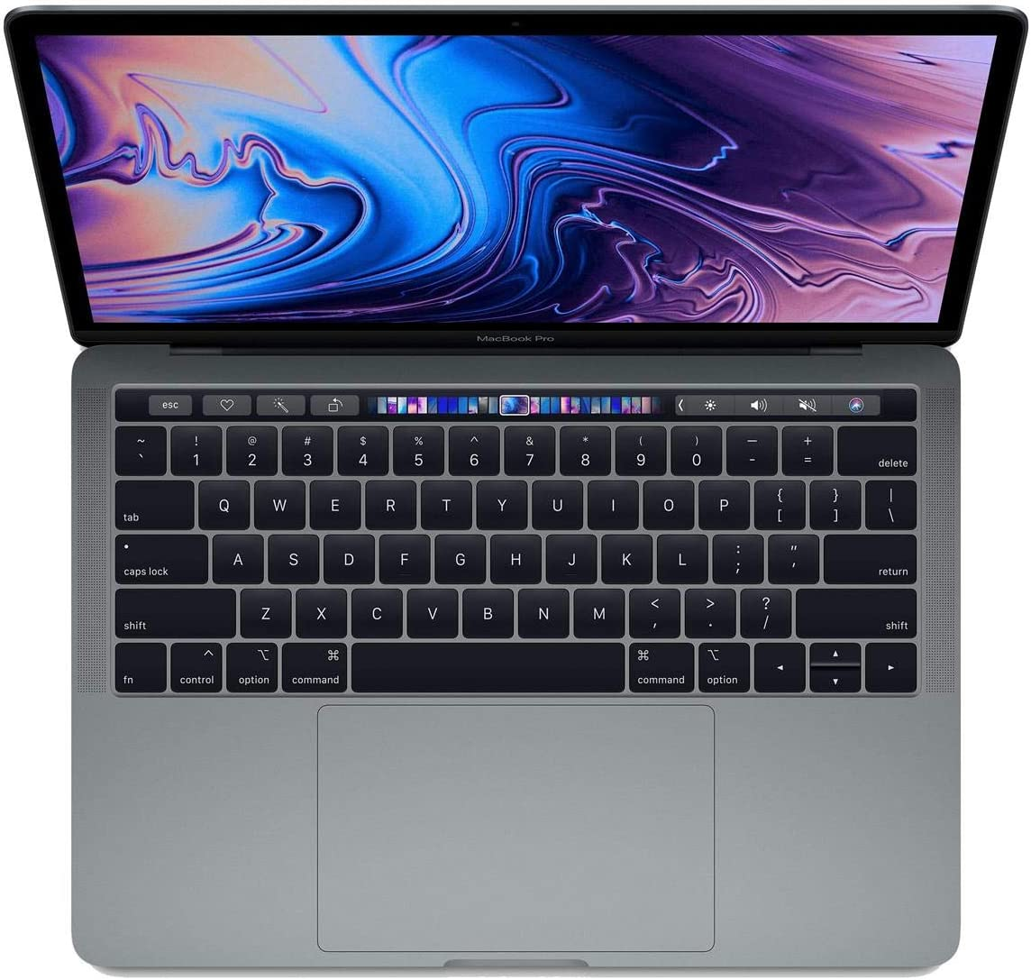 """Apple 13"""" MacBook Pro w/Touch Bar, 1.4GHz, Quad Core I5, 16GB Memory, 512GB SSD, - Space Gray (Mid 2019)"""