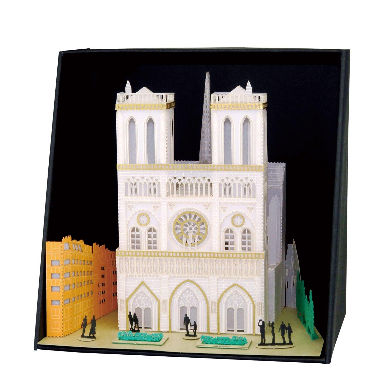 Paper Nano Notre Dame Building Set