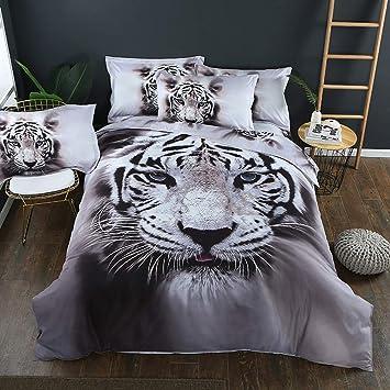 ZuverläSsig Bettwäsche Tiger Möbel & Wohnen Bettwäsche