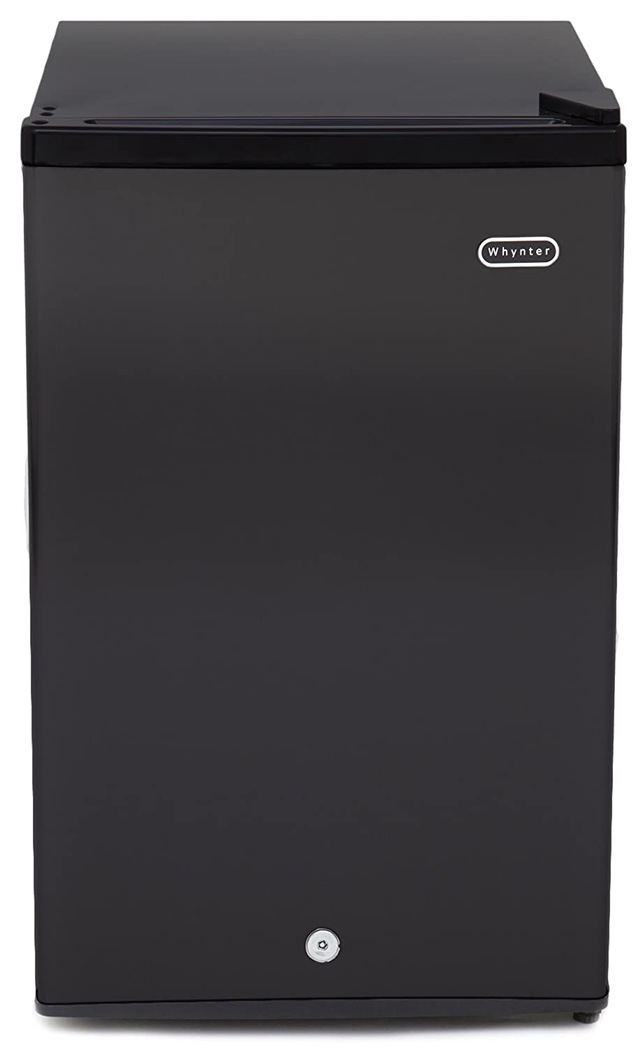 Whynter CUF-301BK 3.0 cu. ft. Energy Star Upright Freezer with Lock, Black Whynter Small Appliances