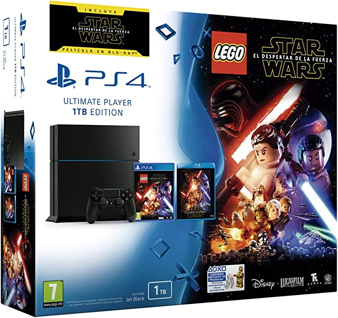 PlayStation 4 - Consola 1 TB + LEGO Star Wars: Amazon.es: Videojuegos