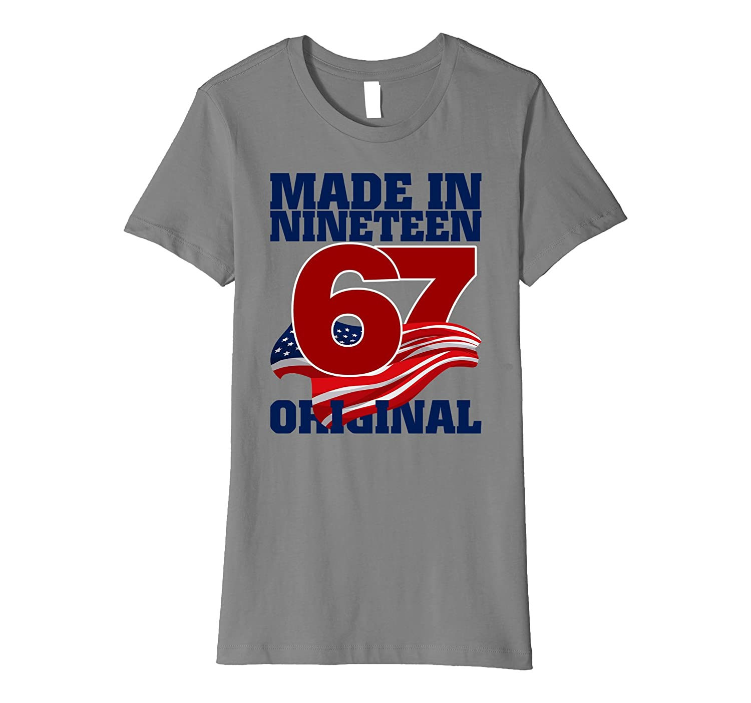 Awesome are born made in 1967 50 th Tshirt
