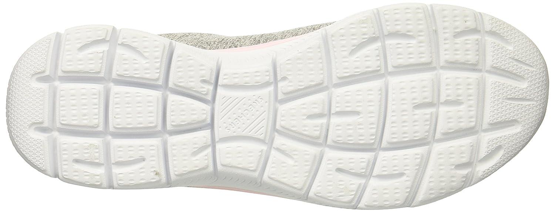 Skechers Women's Summits Sneaker B0778XXXD3 9.5 B(M) US Grey Light Pink