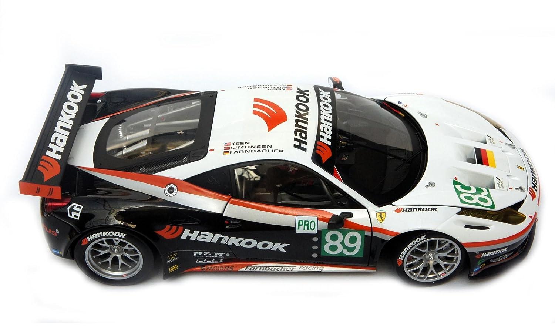 87e63607d984 Mattel Hotwheels Elite Ferrari 458 Italia GT2 1 1 1   18 a907e5 ...