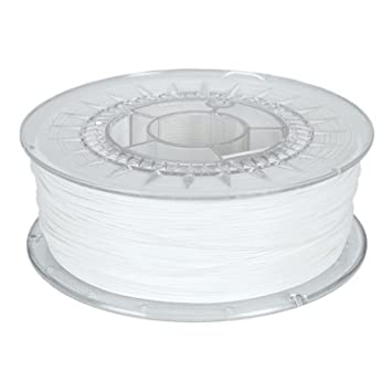 MadridGadgetStore® Filamento PLA 1.75 mm 1.75mm Blanco Ingeo ...