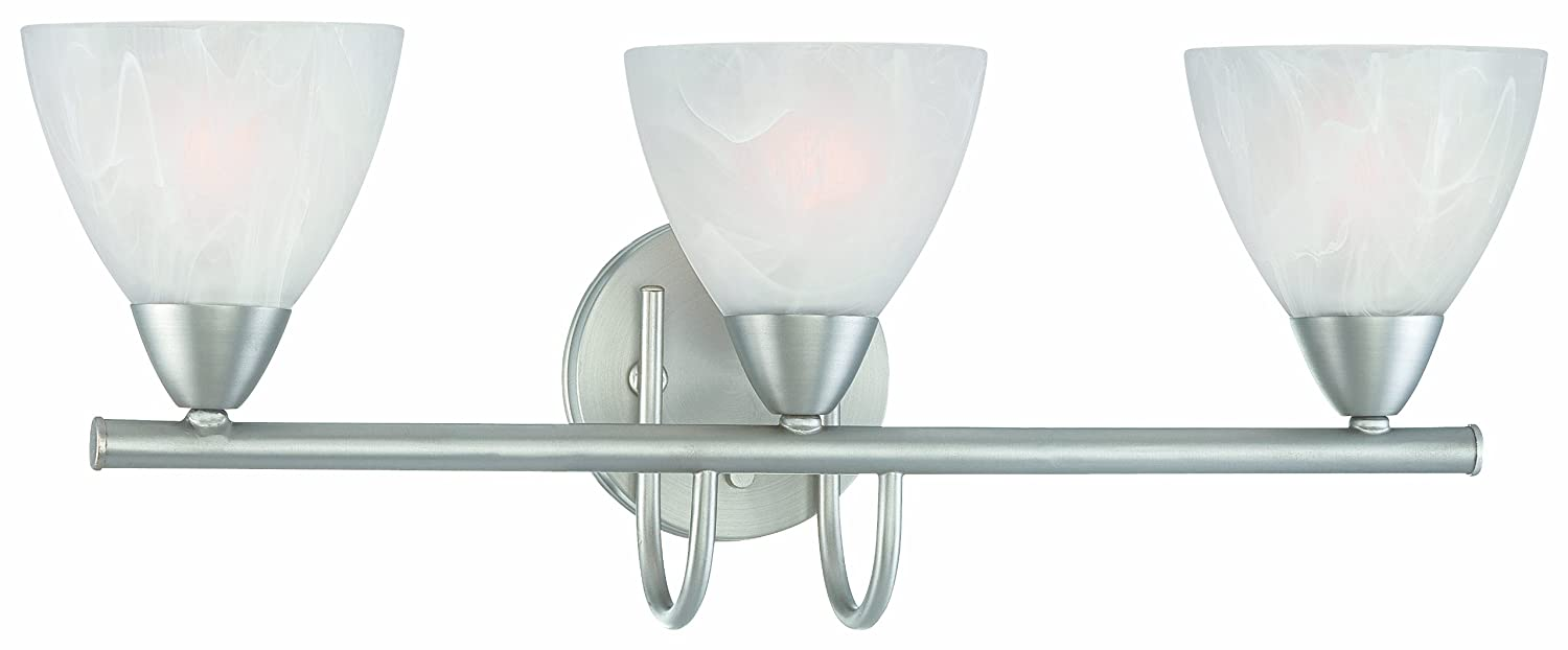 Thomas Lighting 190017117 Tia Bath Light, Matte Nickel