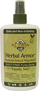 product image for All Terrain Kids Herbal Armor Natural Insect Repellent Pump Spray (240ml, Deet Free, 100% Natural) by All Terrain